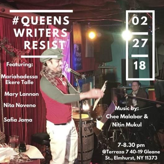 Queens Writers Resist